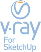 V-Ray pro SketchUp pronájem na 1 rok