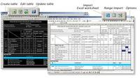 AutoTableDXF pro Revit a Inventor